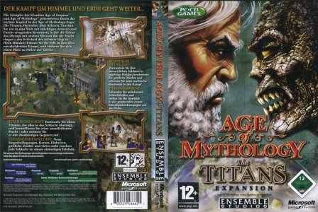 Age of Mythology-The Titans expansion cover